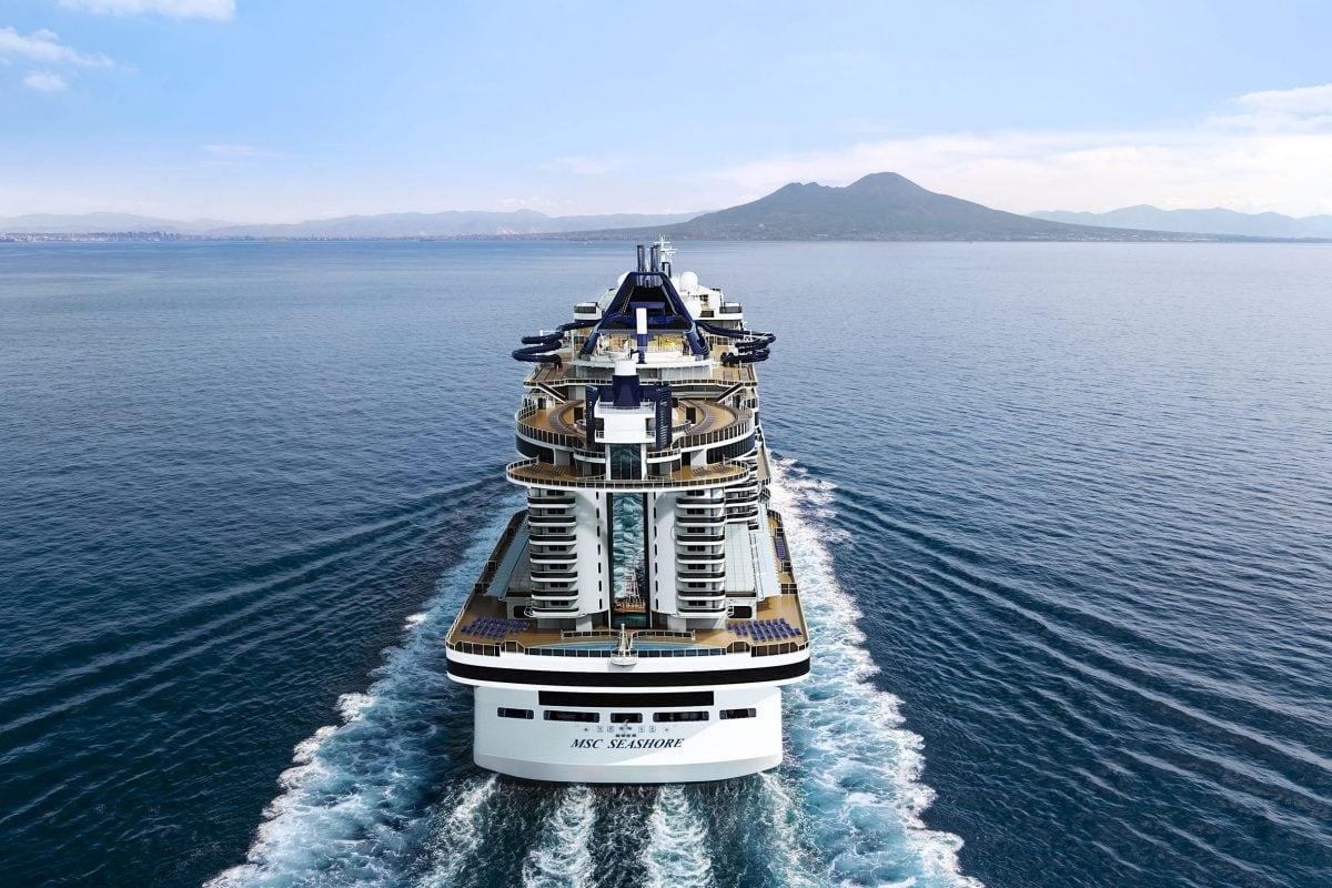Außenansicht der MSC Seashore / © MSC Cruises